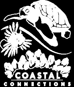 Coastal Connections White Logo